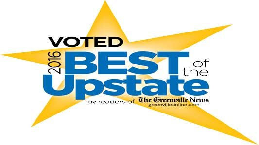 "Guy Roofing Voted ""Best Roofing Company"" By Readers Of The Greenville News"