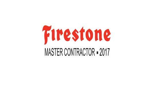 Firestone Master Contractor 2017