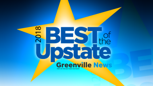 "Guy Roofing voted ""2018 Best of the Upstate"""