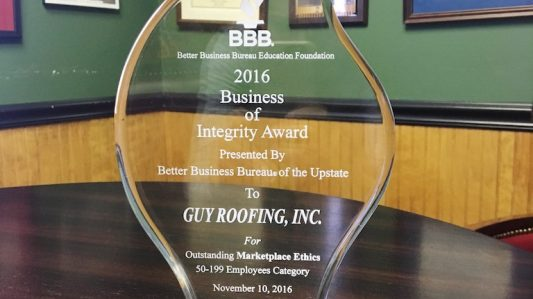 2016 Business of Integrity