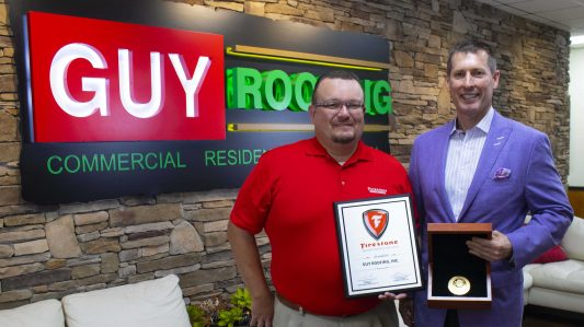 Guy Roofing Wins Prestigious Firestone Awards