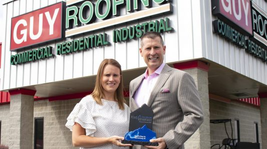 Guy Roofing receives 2018 Peak Advantage Award